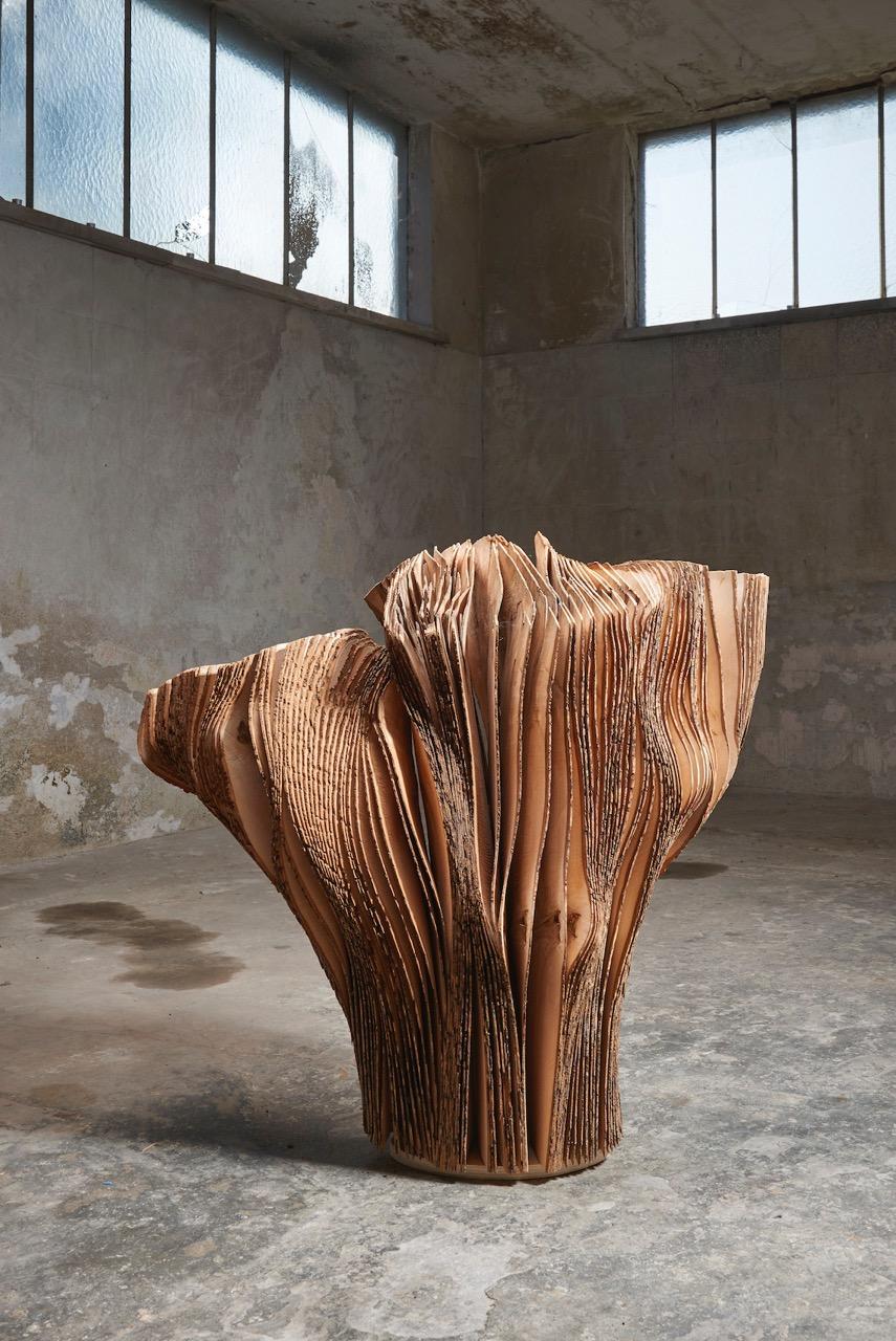 01_Herbert Golser, Untitled, 2014-15, ash wood, 105x55x108cm