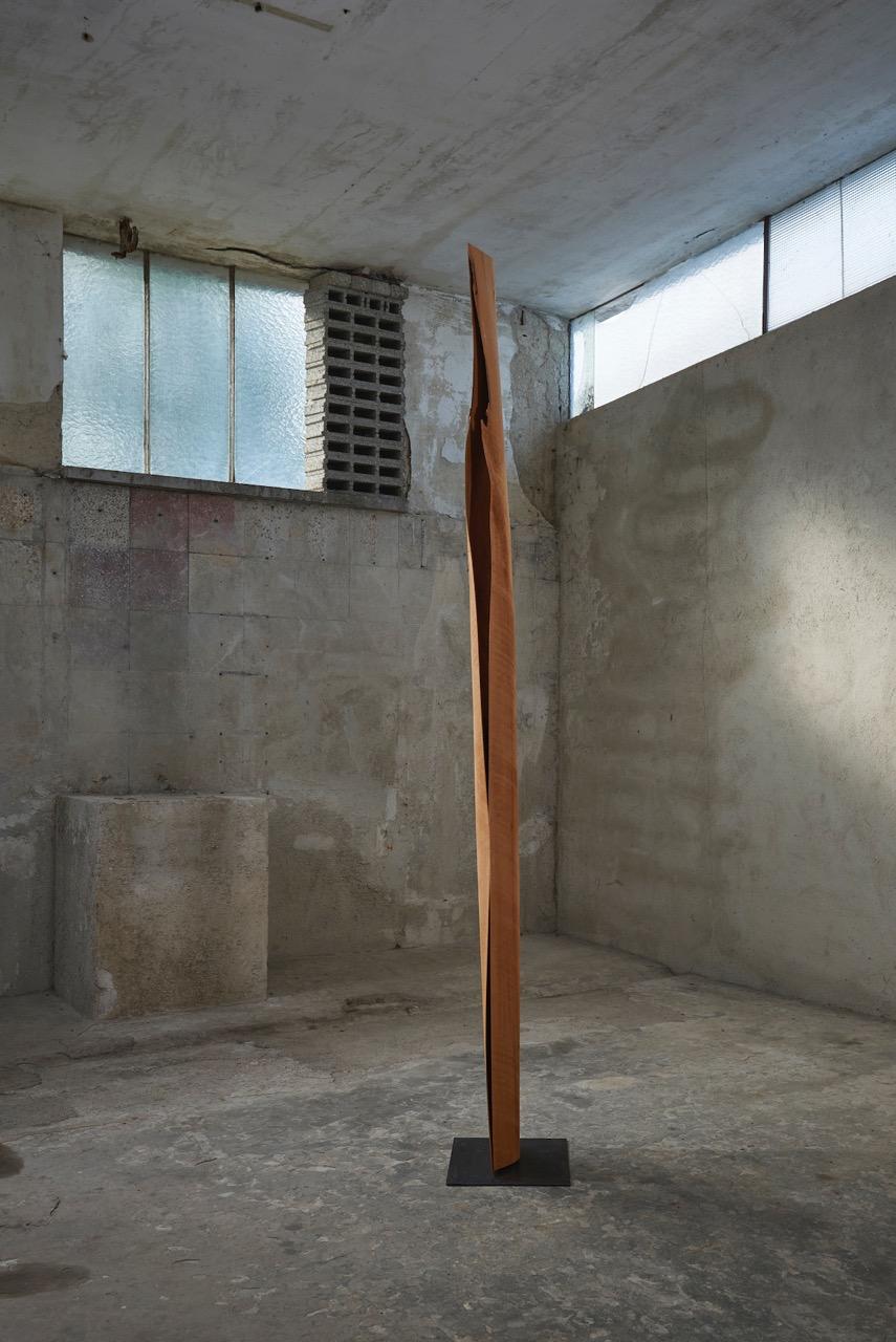 03_Herbert Golser, untitled, 2013, pear wood, 26x13x265cm