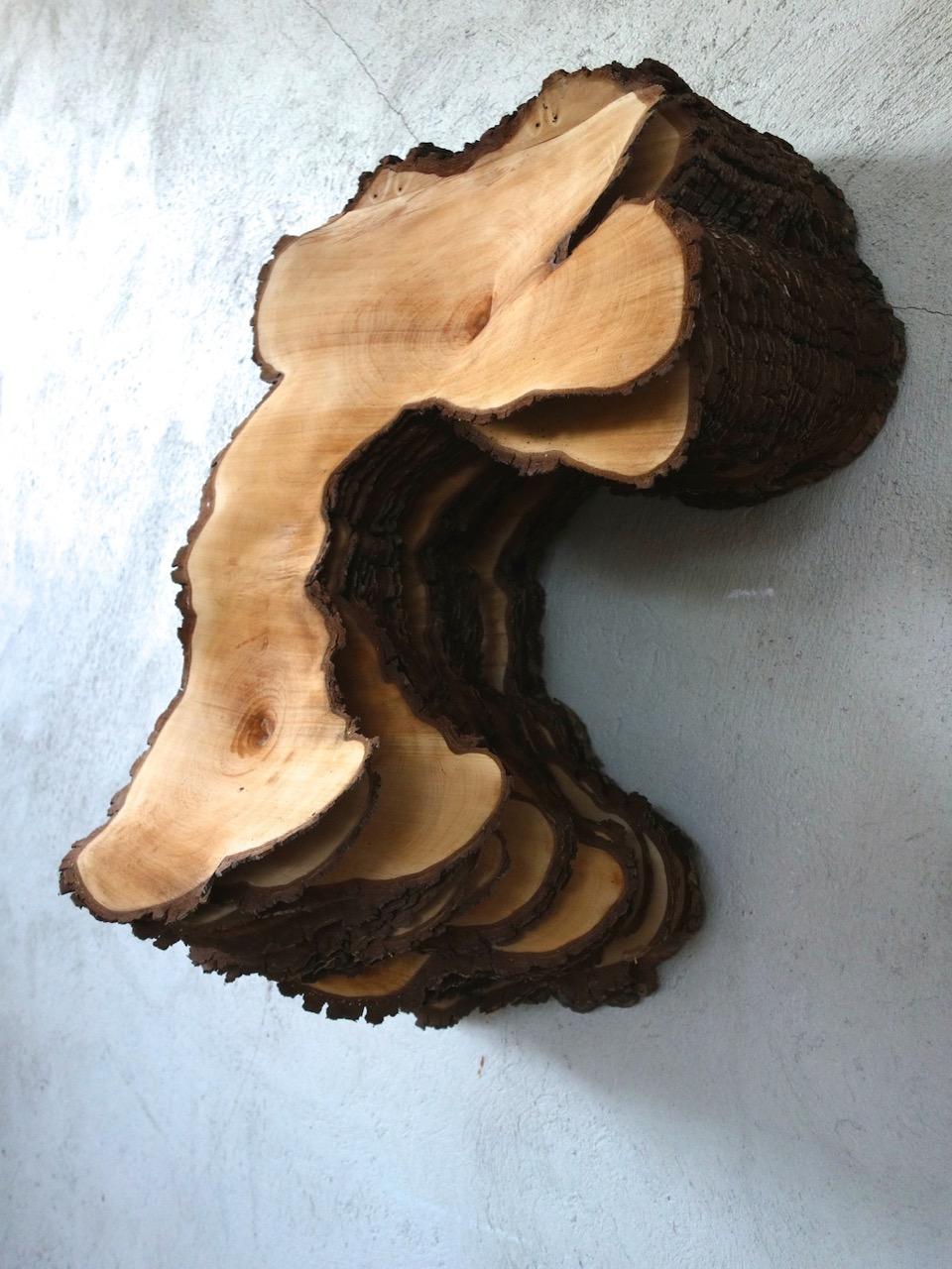 06_Herbert Golser, Untitled, 2014, pear wood, 63x60x103cm