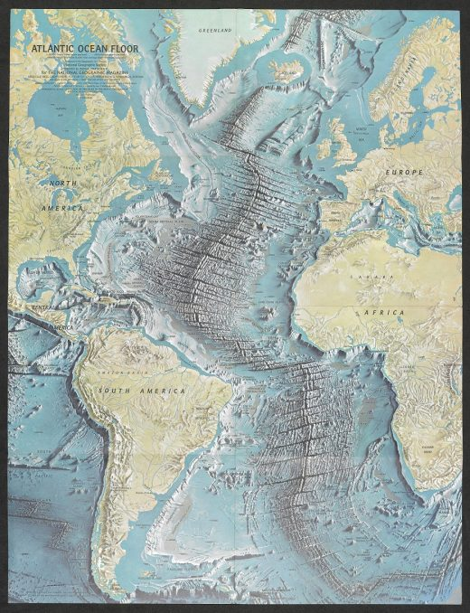 Putting the british library on the map lawfully chic heinrich beranns atlantic ocean floor national geographic magazine gumiabroncs Choice Image