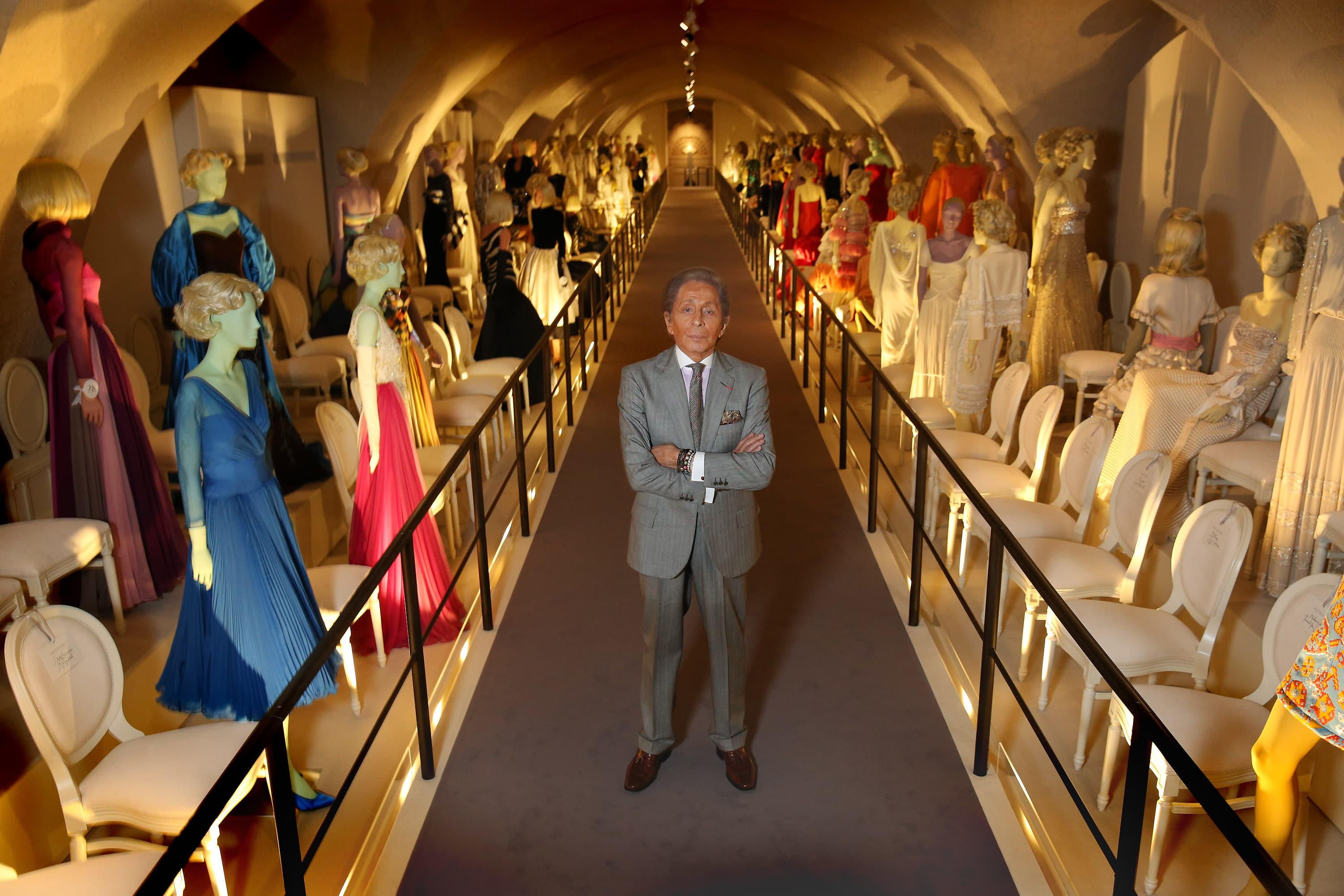 Valentino: Master of Couture exhibition in Somerset House