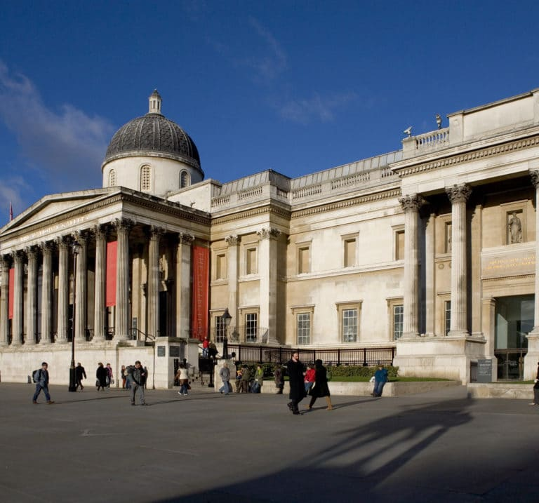 Let's head back to… The National Gallery